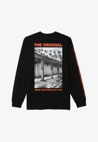 Vans - MN OTW TAGGED LS - Print T-shirt - black - 0