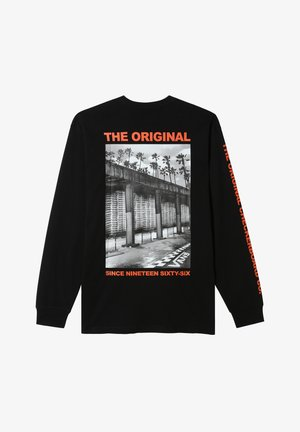 MN OTW TAGGED LS - Print T-shirt - black