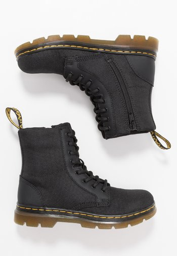 COMBS - Lace-up ankle boots - black