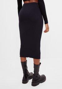 Bershka - Pencil skirt - black - 2