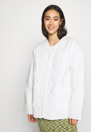 NOVA QUILTED JACKET - Light jacket - white light
