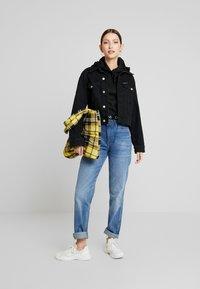 Calvin Klein Jeans - LOGO MILANO HOODIE - Hoodie - black - 1