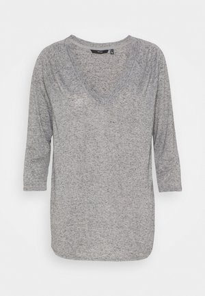 VMSUPER - Long sleeved top - light grey melange