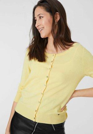 Cardigan - light yellow