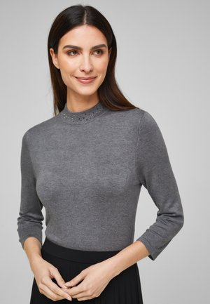 TRUI - Jumper - grey melange