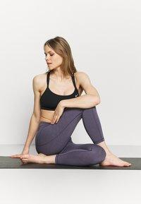Sweaty Betty - SUPER SCULPT 7/8 YOGA LEGGINGS - Leggings - fig purple - 1