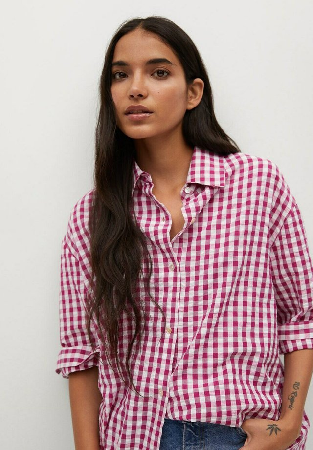 ISABEL - Button-down blouse - rosa