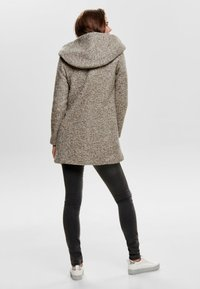 ONLY - ONLSEDONA COAT - Cappotto corto - taupe grey - 2