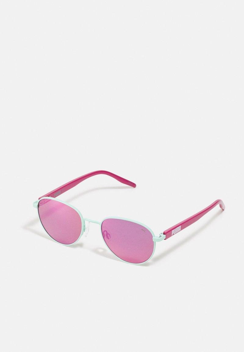 Puma - SUNGLASS KID INJECTION UNISEX - Sunglasses - green/pink