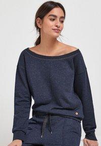Next - Sweatshirt - metallic blue - 4