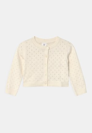 TODDLER GIRL  - Cardigan - ivory frost