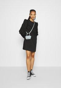 JDY - JDYENYA LIFE SHORT DRESS - Skjortekjole - black - 1