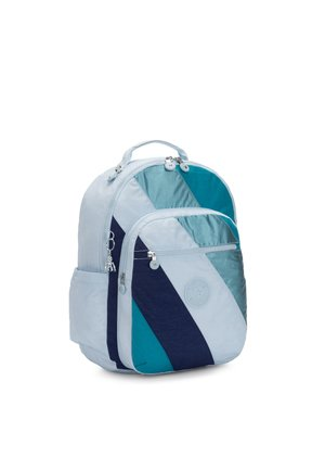 SEOUL - Rucksack - blue mix block