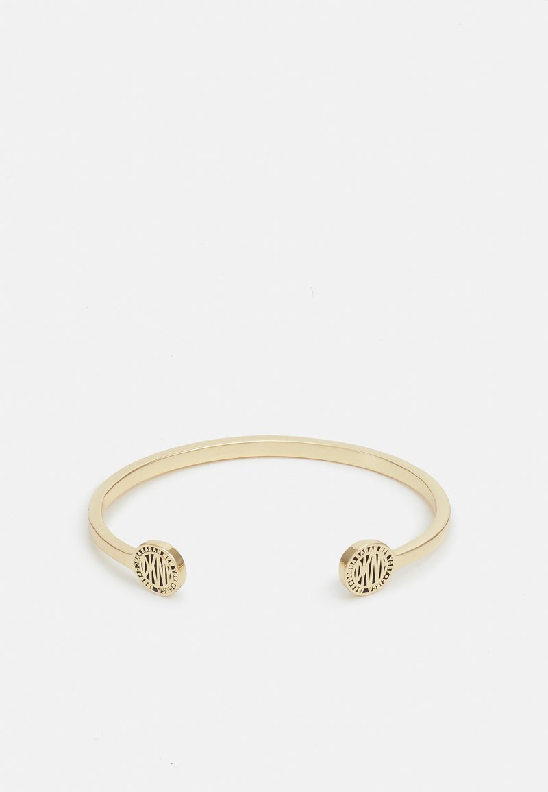 DKNY - LOGO COIN CUFF - Bracelet - gold-coloured