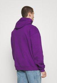 9N1M SENSE - LOGO HOODIE UNISEX - Collegepaita - purple - 2