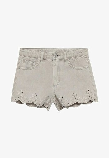 Denim shorts - gris denim