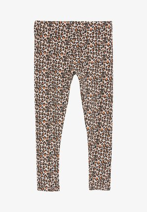ANIMAL PRINT - Legíny - mottled pink