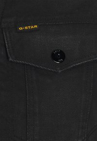 G-Star - 3301 SLIM - Spijkerjas - relz black denim o - jet black - 2