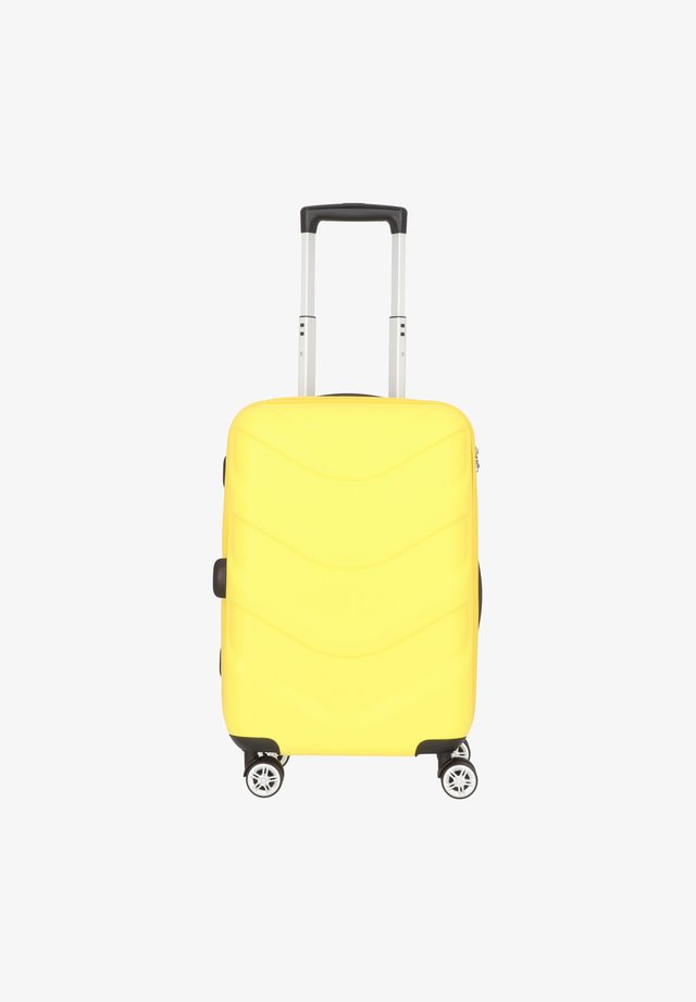 ARROW 2 4-ROLLEN KABINENTROLLEY 55 CM - Valise à roulettes - yellow