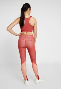 Puma - HIGH WAIST LEGGINGS - Tights - bossa nova - 2