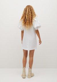 Mango - RICKYH - Korte jurk - bílá - 2
