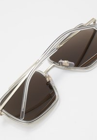 Dolce&Gabbana - Sunglasses - pale gold-coloured/crystal - 4