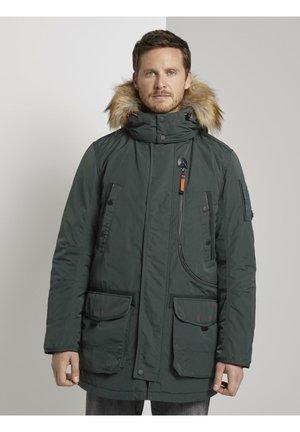 Winter coat - dark gable green