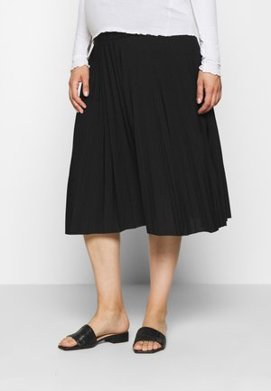 MATERTNIY SKIRT - Falda acampanada - black