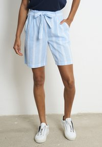 recolution - Shorts - dusk blue / white - 0
