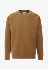 Carhartt WIP - CHASE  - Bluza - hamilton brown/gold - 4