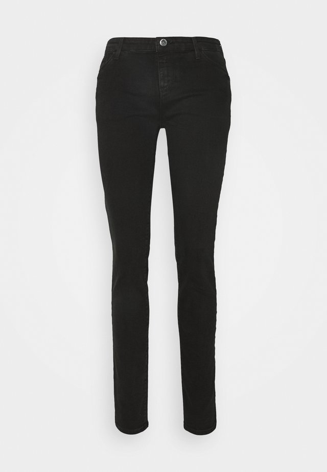 FIVE POCKETS PANT - Slim fit jeans - denim nero