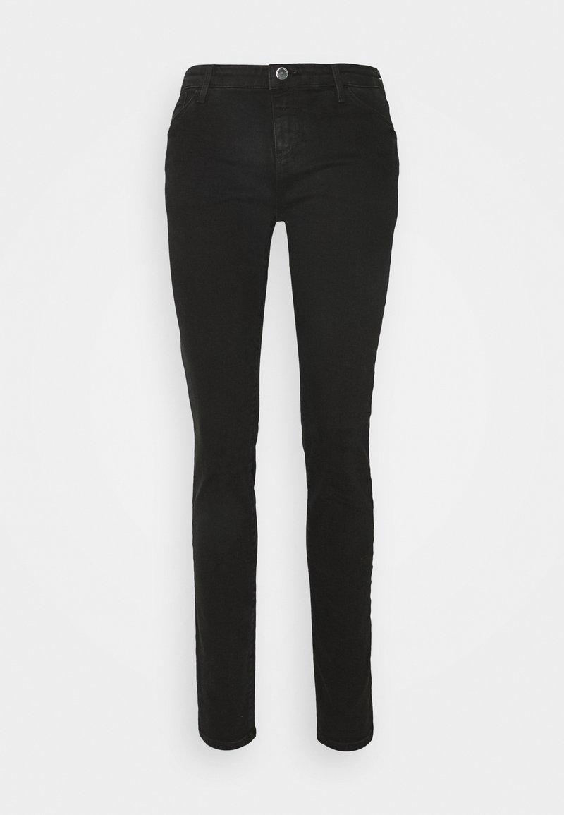 Emporio Armani - FIVE POCKETS PANT - Slim fit jeans - denim nero