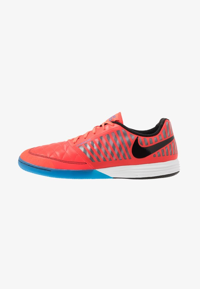 LUNAR GATO II IC - Fußballschuh Halle - bright crimson/black/white/photo blue