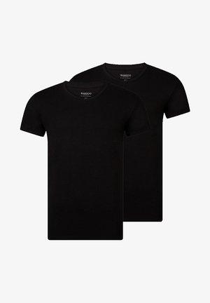 2PACK - Undershirt - black,black