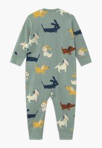 Lindex - DOGS  UNISEX - Pyjama - light dusty aqua - 1