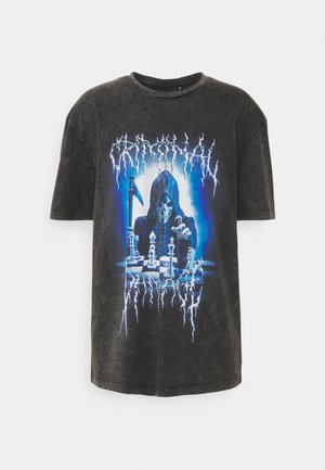 REEPER TEE - T-shirt med print - black