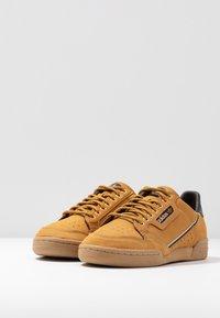adidas Originals - CONTINENTAL 80 - Sneakers basse - mesa/night brown/equipment yellow - 2