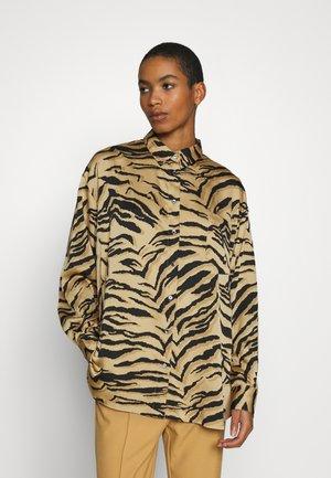 ALINA - Camicia - camel multi