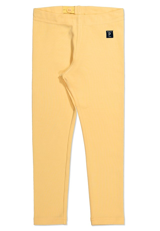 SOLID COLOR  - Trousers - impala