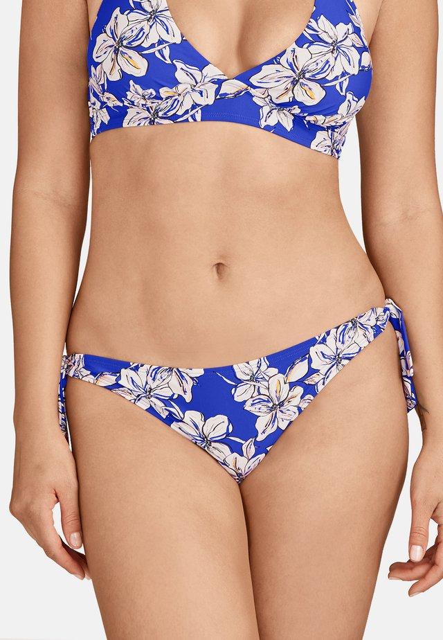 PARFUMS D'ÉTÉ - Bas de bikini - bleu floral glycine