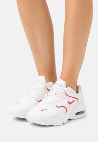 Nike Sportswear - AIR MAX 2X - Trainers - summit white/siren red/white - 0