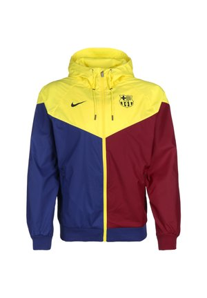 FC BARCELONA AUTHENTIC WINDRUNNER KAPUZENJACKE HERREN - Club wear - deep royal blue / dark obsidian