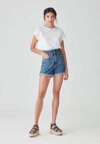 PULL&BEAR - Denim shorts - blue - 1