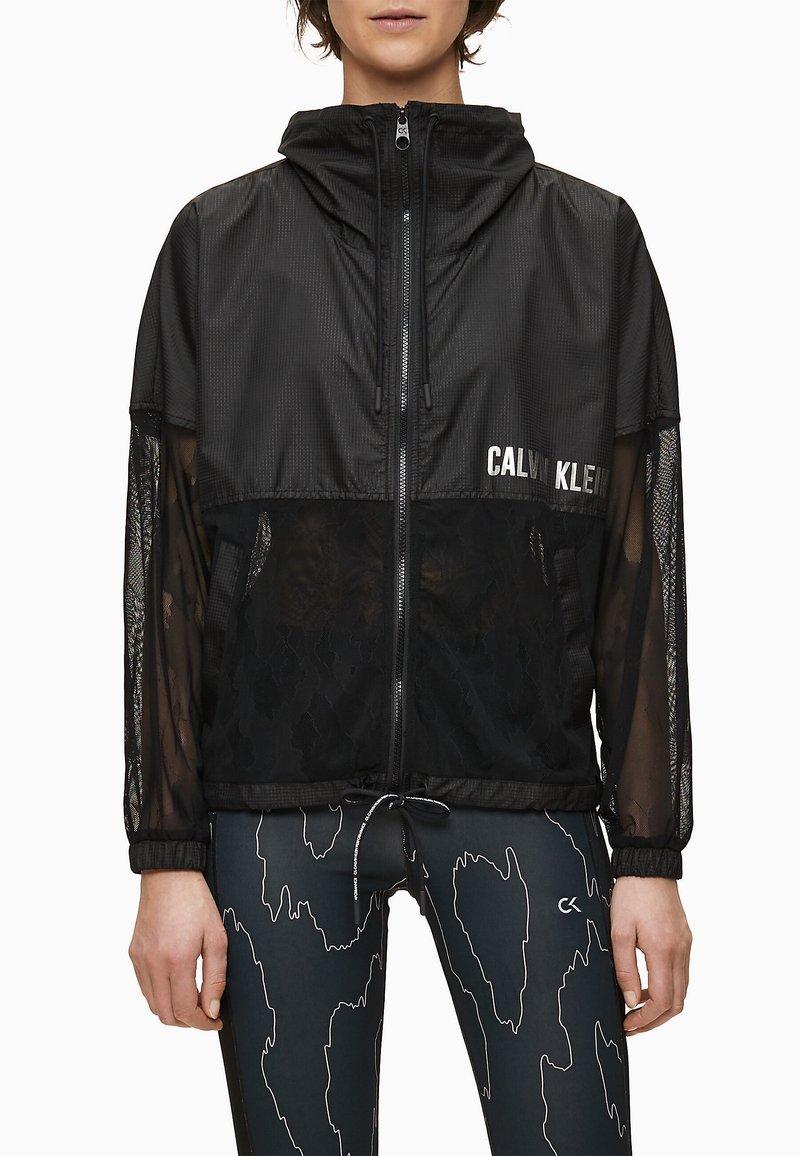 Calvin Klein - Summer jacket - ck black