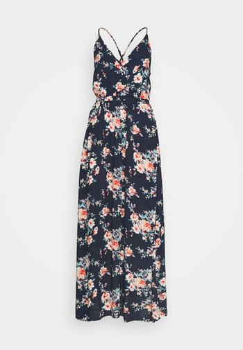 VIMESA WRAP DRESS - Maksimekko - navy blazer