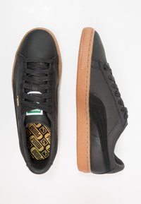 Puma - BASKET CLASSIC DELUXE - Trainers - black - 1