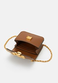 Tory Burch - ELEANOR MINI CROSSBODY - Across body bag - moose