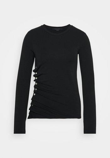 HATTI TEE - Long sleeved top - black