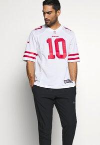 Nike Performance - NFL SAN FRANCISCO JIMMY GAROPPOLONIKE GAME ROAD - Club wear - white - 3