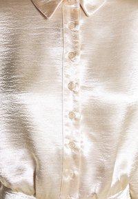 Gina Tricot - SIDNEY SHIRT DRESS - Cocktail dress / Party dress - sandshell - 6
